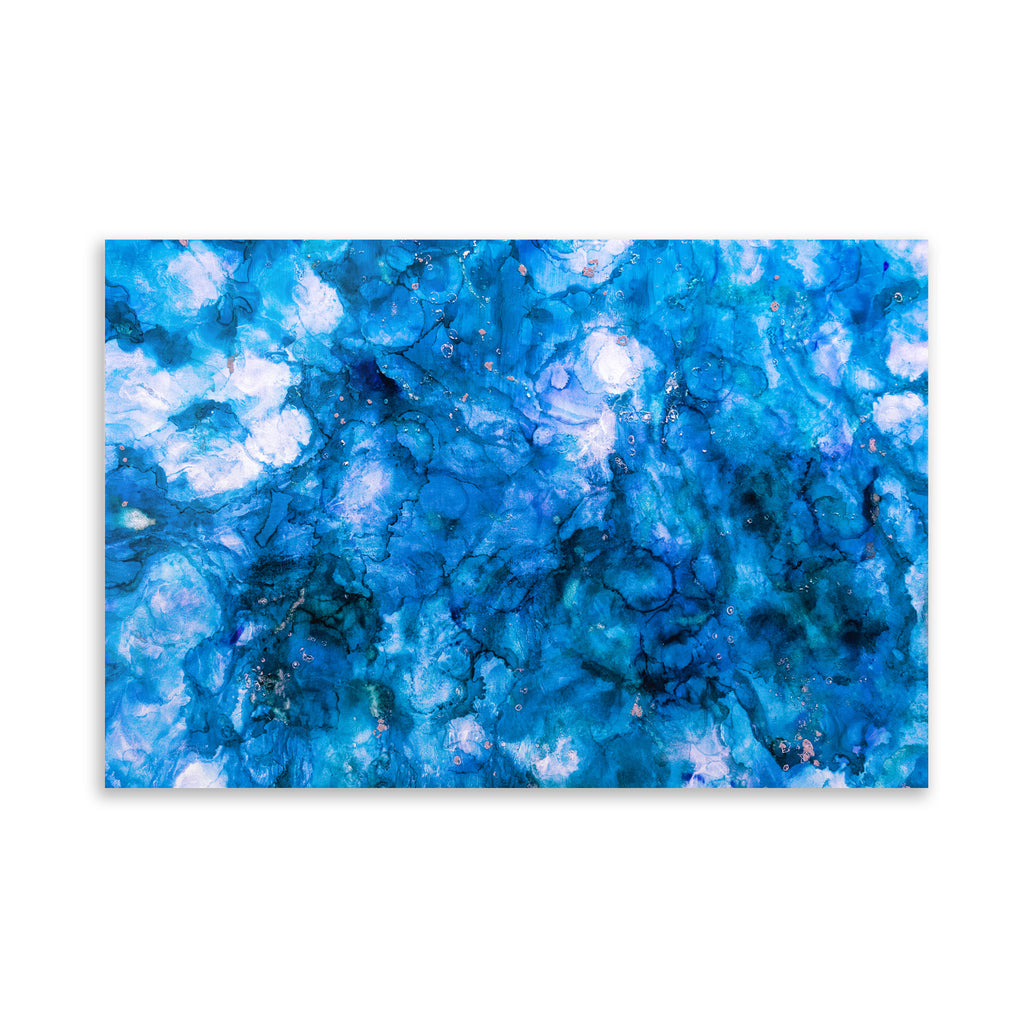BLUE GROTTO Art on Acrylic By Christina Twomey