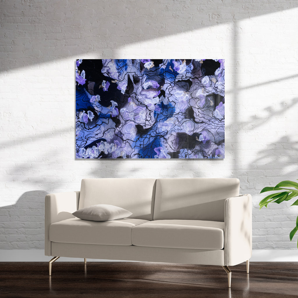 ORCHIDS Art on Acrylic By Christina Twomey