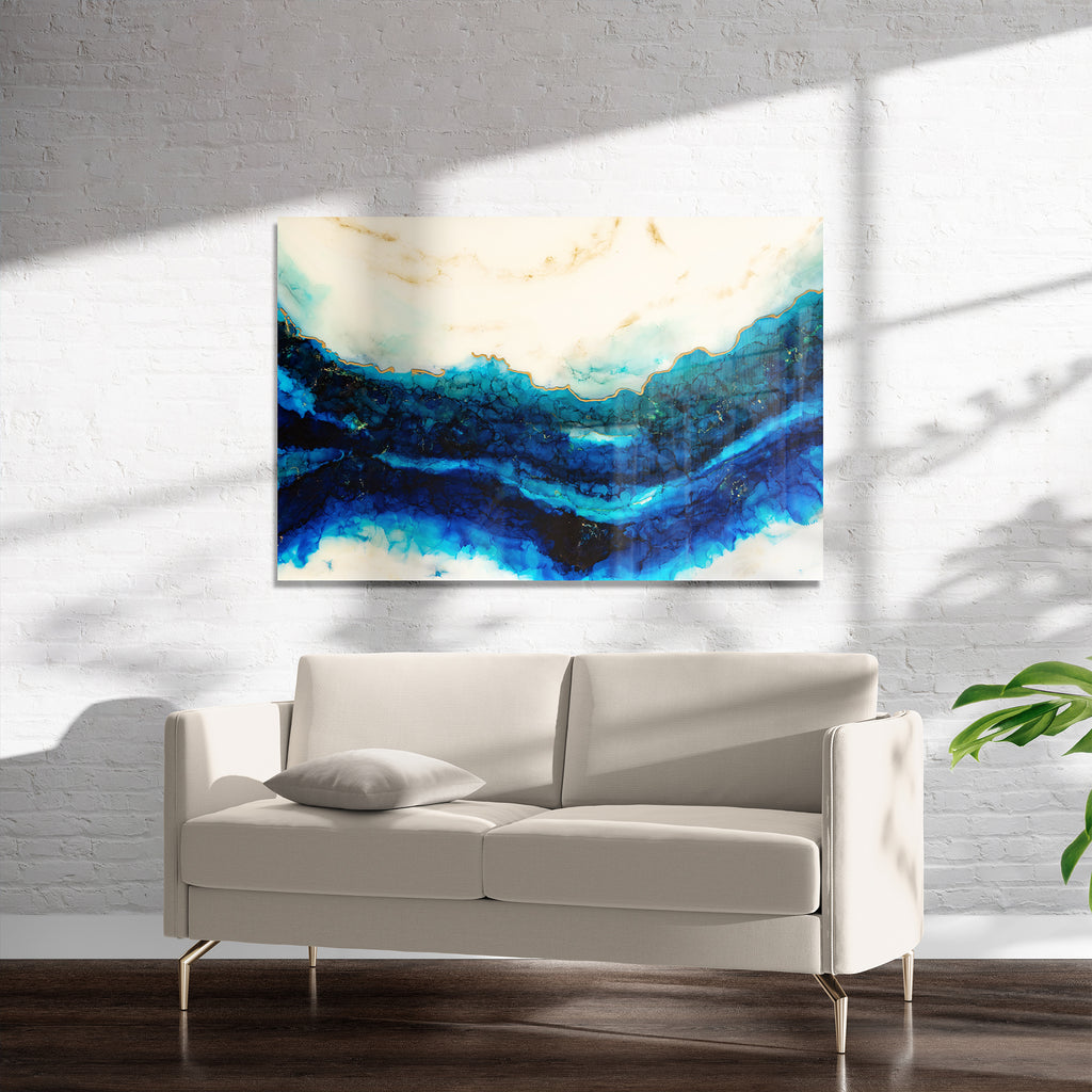 RIVER ART Art on Acrylic By Christina