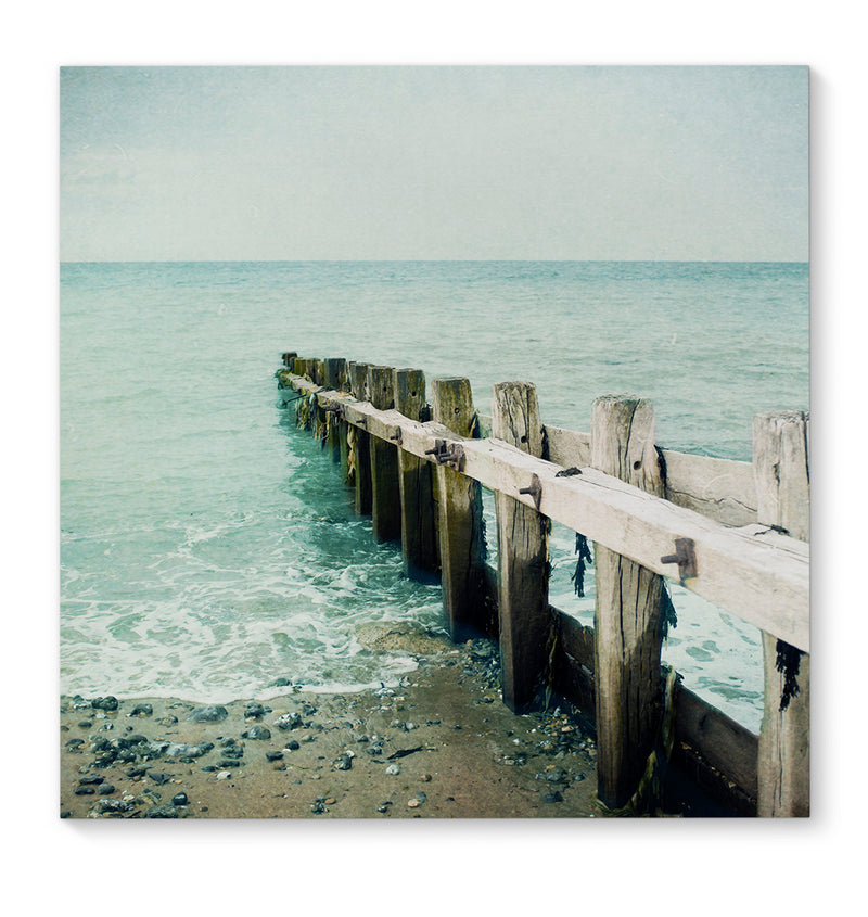 JETTY Canvas Art By Bomobob