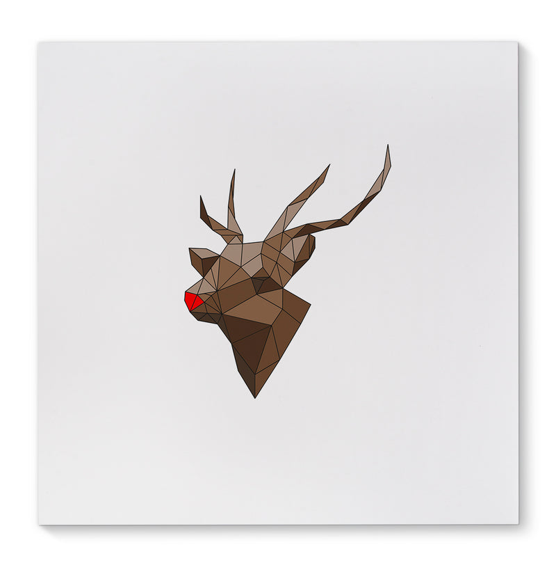 RUDOLF Canvas Art By Terri Ellis