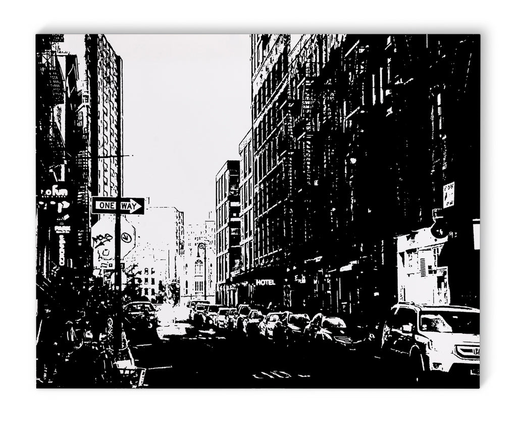 LOWER EAST SIDE NYC Canvas Art By Fabrizio Musa