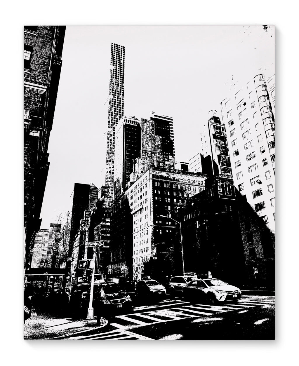 NYC UPPER EAST SIDE Canvas Art By Fabrizio Musa