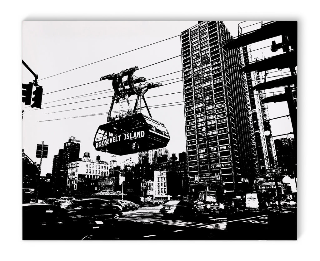 MIDTOWN NYC Canvas Art By Fabrizio Musa