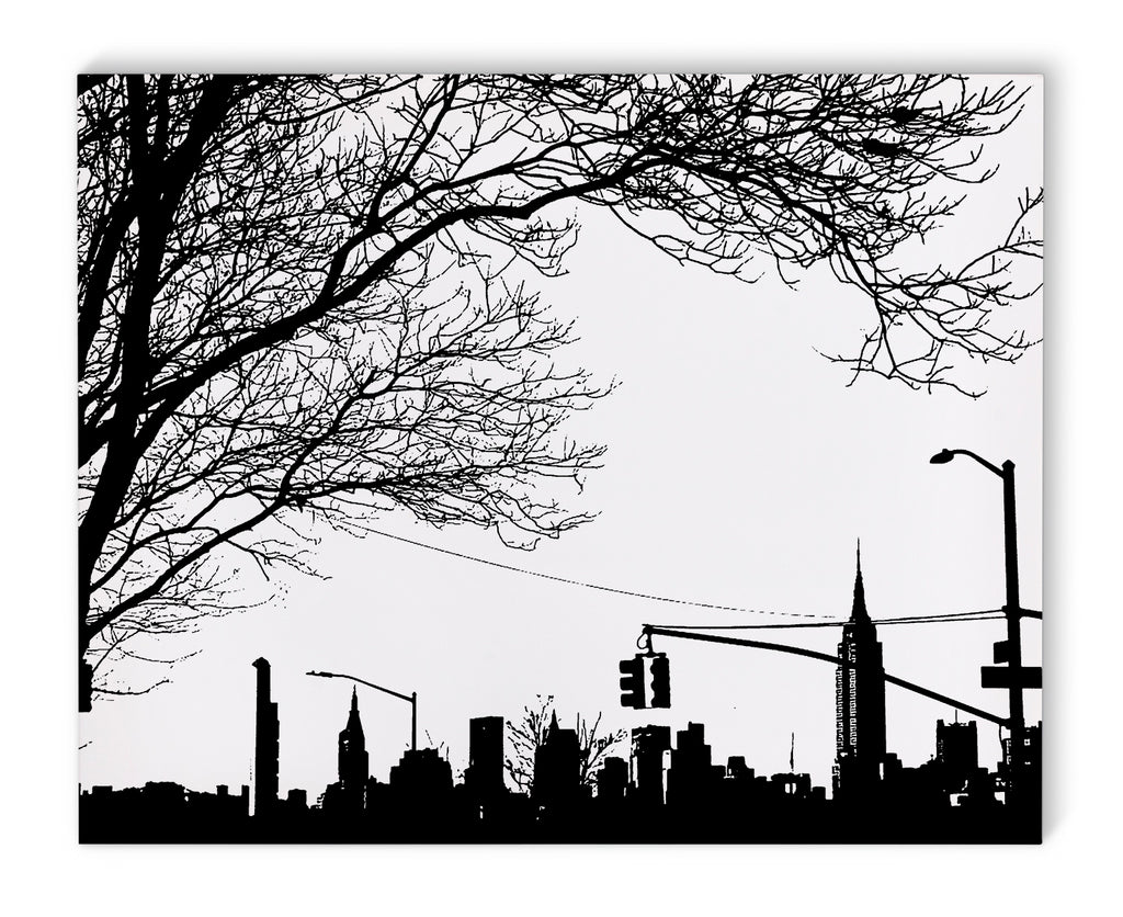 NYC SKYLINE FROM BROOKLYN Canvas Art By Fabrizio Musa