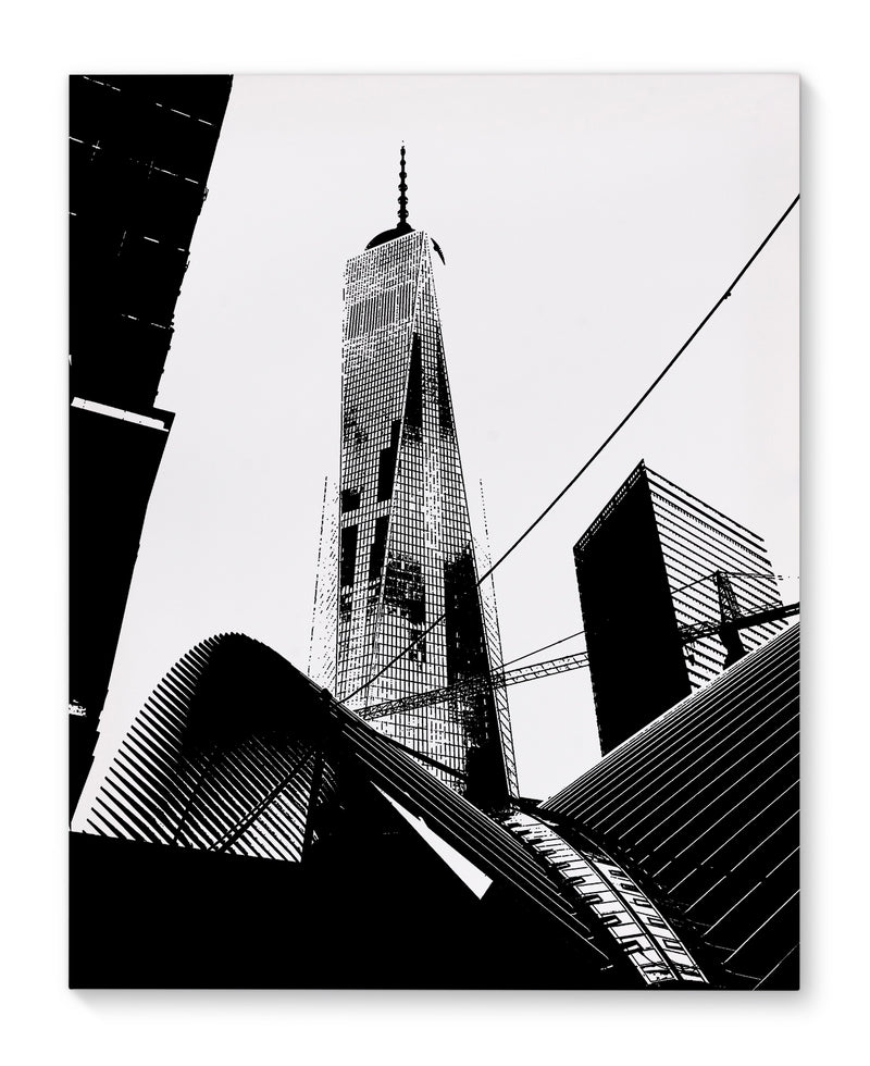 FREEDOM TOWER Canvas Art By Fabrizio Musa
