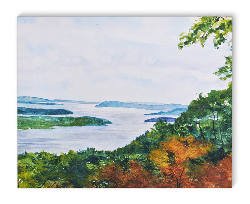 HUDSON RIVER Canvas Art By Jayne Conte