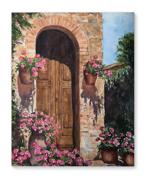 DOOR Canvas Art By Jayne Conte