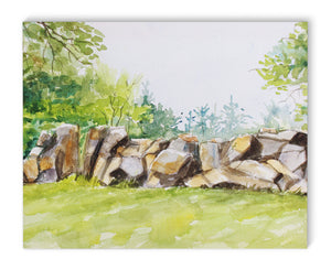 ROCK WALL Canvas Art By Jayne Conte