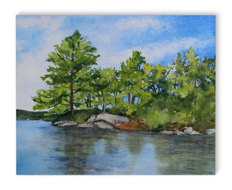 LAKE BREEZE Canvas Art By Jayne Conte