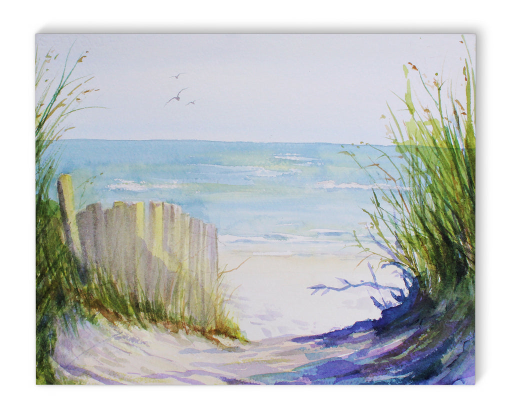 BEACH PATH Canvas Art By Jayne Conte