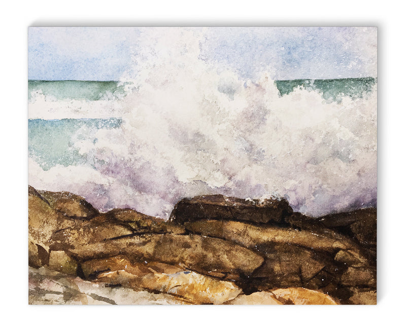 WAVE BREAK Canvas Art By Jayne Conte
