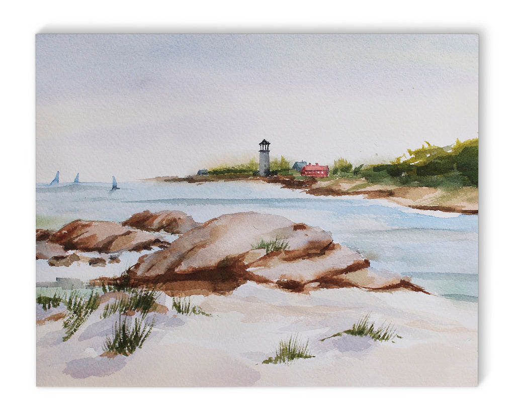 BEACH VIEWS Canvas Art By Jayne Conte