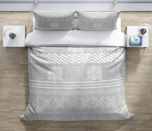 GREY NOVA Duvet Cover Set By Becky Bailey