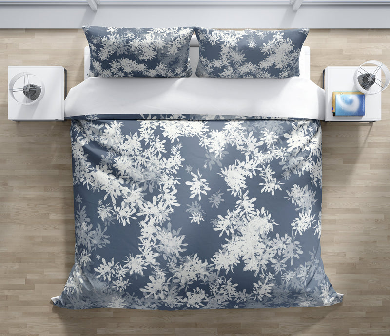 ANNA BLUE Duvet Cover Set By Jen Jones