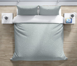 GRETA BLUE Duvet Cover Set By Kavka Designs