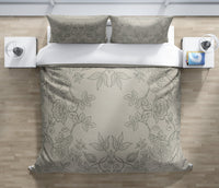 DANIELLA BEIGE Duvet Cover Set By Kavka Designs