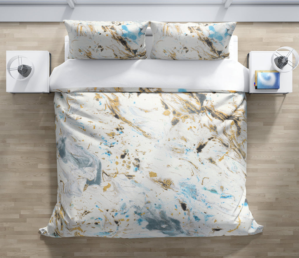 MARBLED Duvet Cover Set By Marina Gutierrez