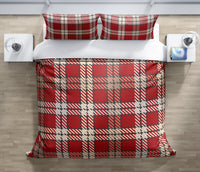 AMBER RED Duvet Cover Set By Terri Ellis