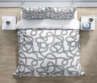 ROPE Duvet Cover Set By Terri Ellis
