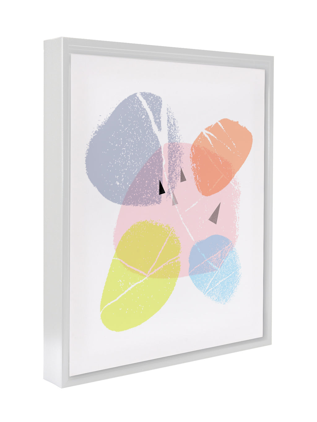 ABSTRACT FOUR Framed Canvas By Honeytree Prints