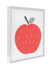 APPLE Premium Framed Gallery Wrap By Honeytree Prints