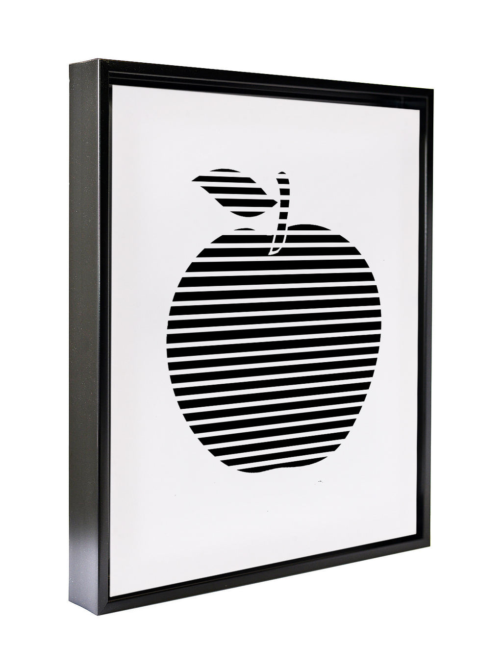 APPLE STRIPES Premium Framed Gallery Wrap By Honeytree Prints