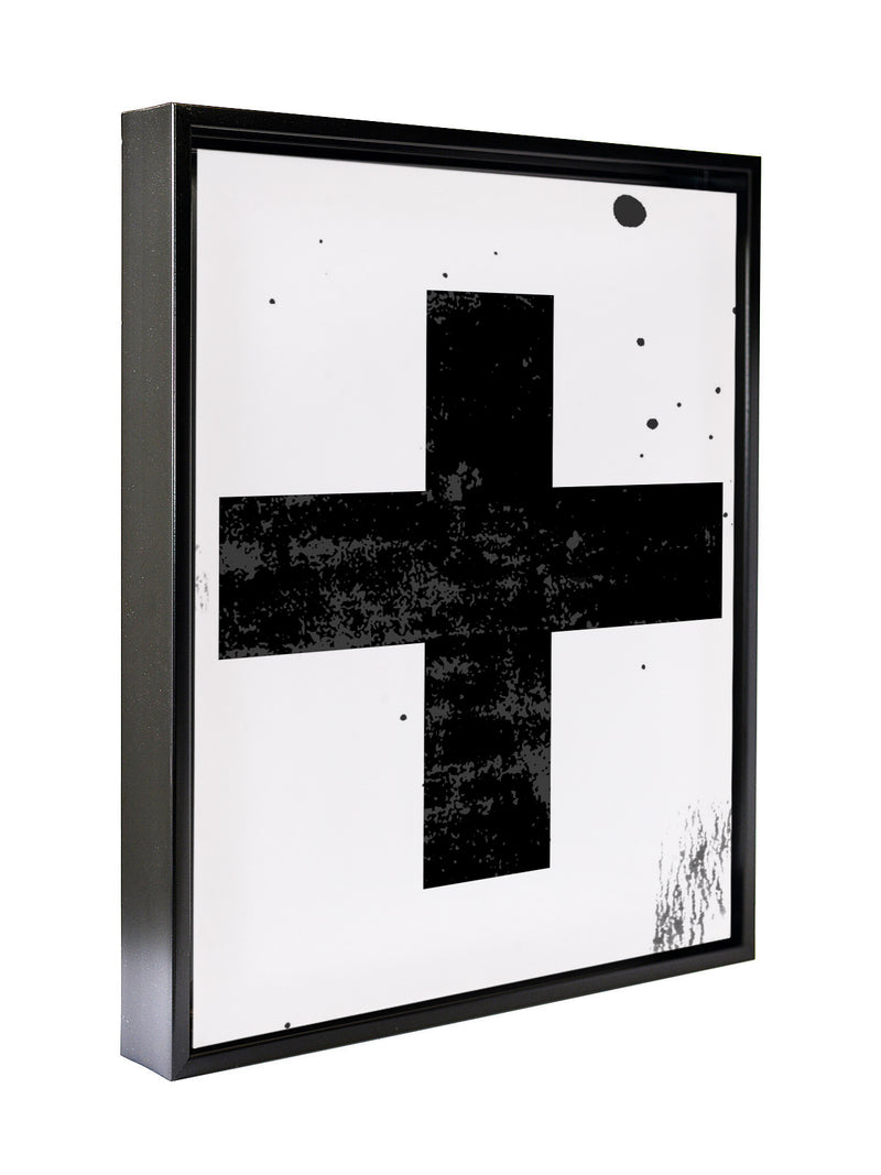 CROSS Framed Canvas By Honeytree Prints