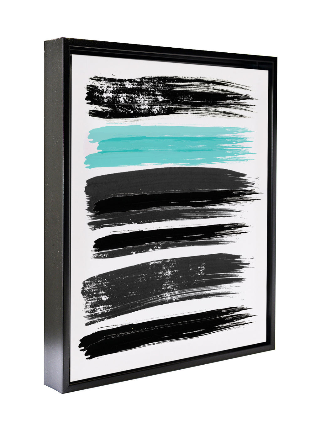 PAINT SWIPES Premium Framed Gallery Wrap By Honeytree Prints