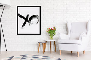 XO Premium Framed Gallery Wrap By Honeytree Prints