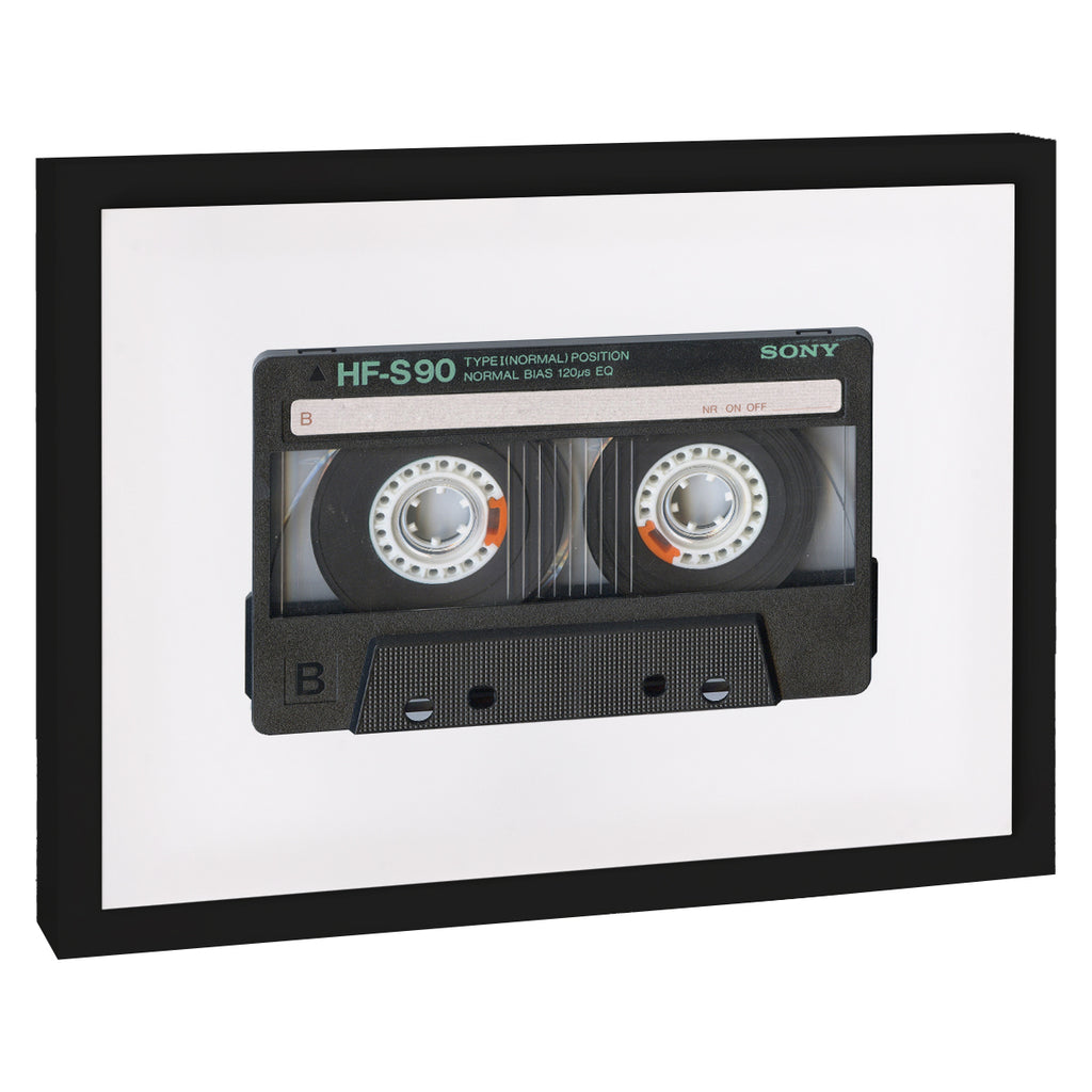 CASETTE TAPE Premium Framed Gallery Wrap By Honeytree Prints