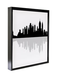NEW YORK CITY Framed Canvas By Honeytree Prints