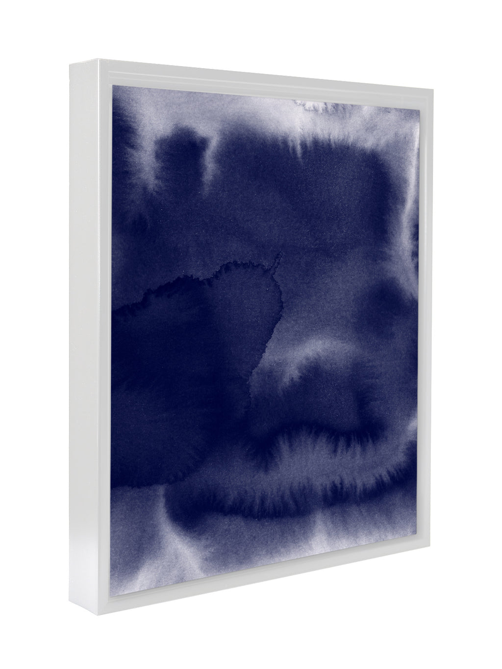 BLUE STAIN Premium Framed Gallery Wrap By Honeytree Prints