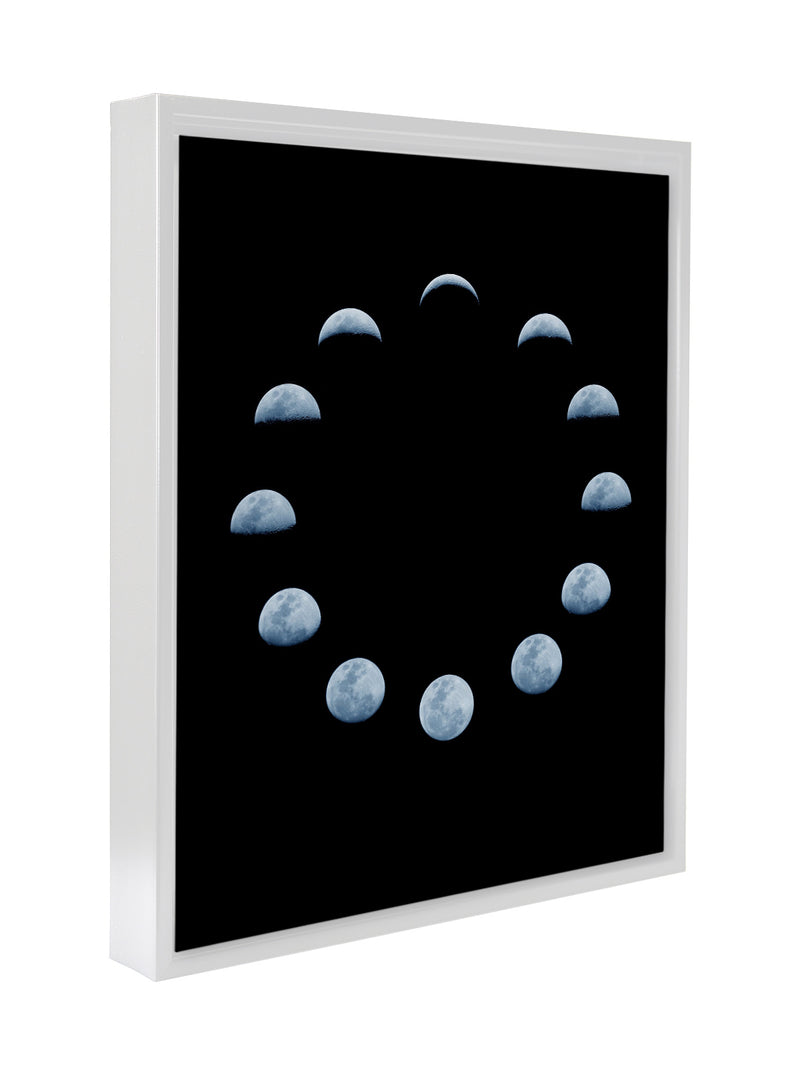 MOON PHASE Premium Framed Gallery Wrap By Honeytree Prints