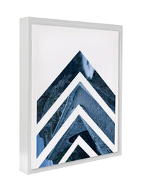 NORDIC ARROWS BLUE Premium Framed Gallery Wrap By Honeytree Prints