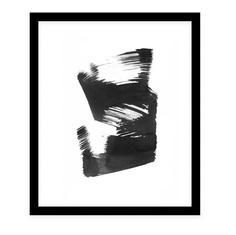 INK SWISH Framed Giclee Print by Danushka Abeygoda