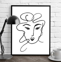 CRAZY HAIR Framed Giclee Print by Terri Ellis