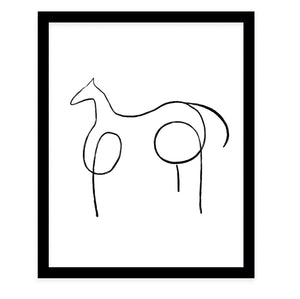 DARK HORSE Framed Giclee Print by Terri Ellis