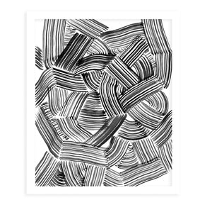 TANGLE Framed Giclee Print by Becky Bailey
