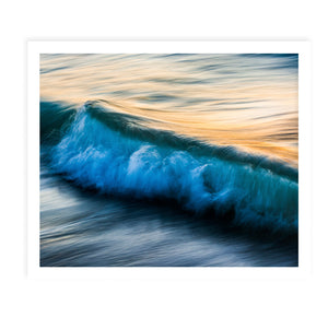 THE UNIQUENESS OF WAVES XI Framed Giclee Print By Tal Paz-Fridman