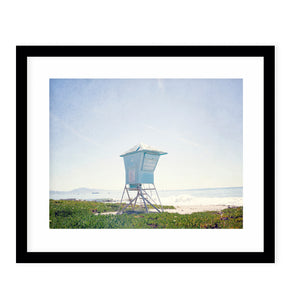 SANTA BARBARA Framed Giclee Print With Mat By Ann Hudec