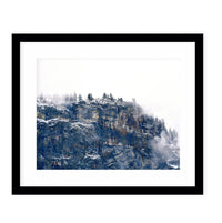 DESTINATION UNKNOWN Framed Giclee Print With Mat By Robin Delean