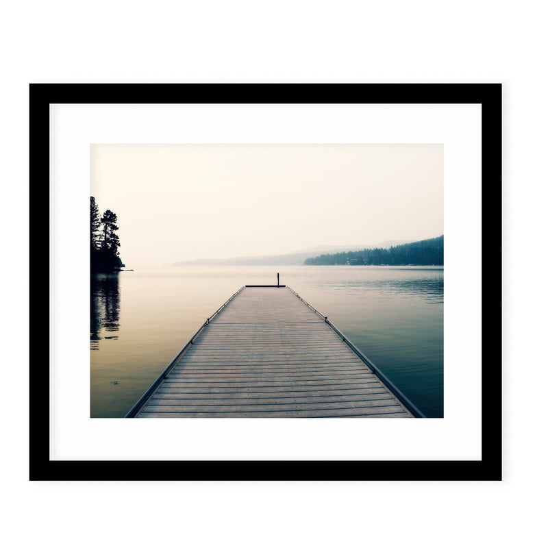 TRANQUILITY Framed Giclee Print With Mat By Robin Delean