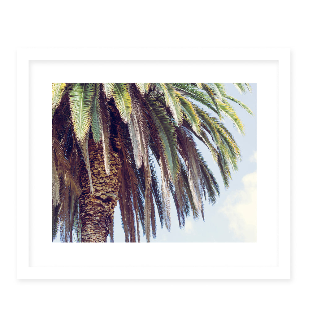 OASIS Framed Giclee Print With Mat By Ann Hudec