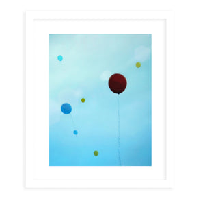 YOU BRIGHTEN MY DAY Framed Giclee Print With Mat By Robin Delean