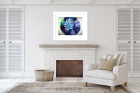 BEACH FLOWER Framed Giclee Print With Mat By Jolina Anthony