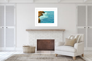 BEACH ISLAND TWO Framed Giclee Print With Mat By Jolina Anthony