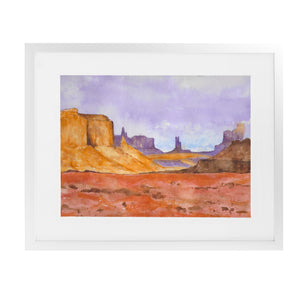 DESSERT Framed Giclee Print With Mat By Jayne Conte