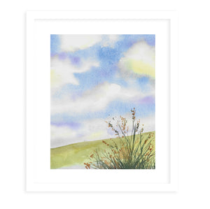 CLOUDS Framed Giclee Print With Mat By Jayne Conte