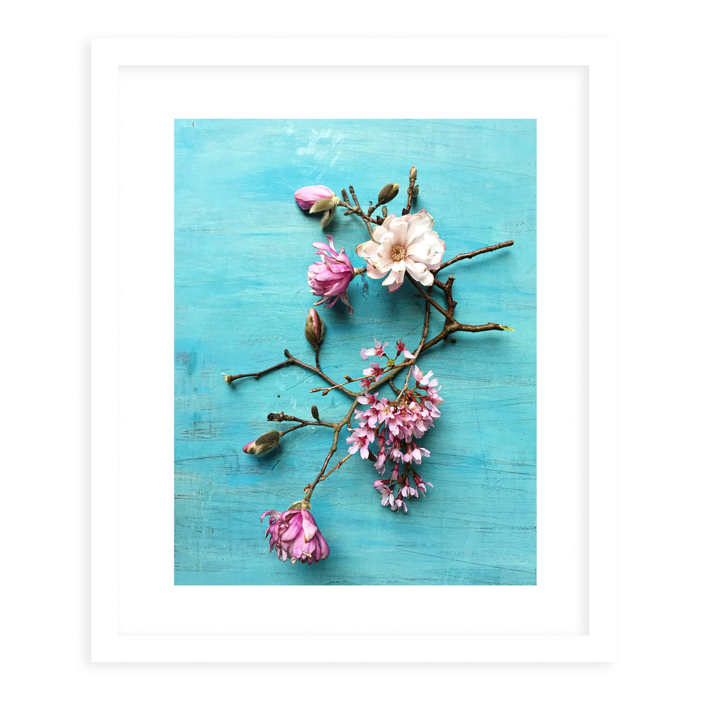 FLORAL DREAM Framed Print With Mat By Olivia St.Claire